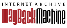 Logo Wayback Machine