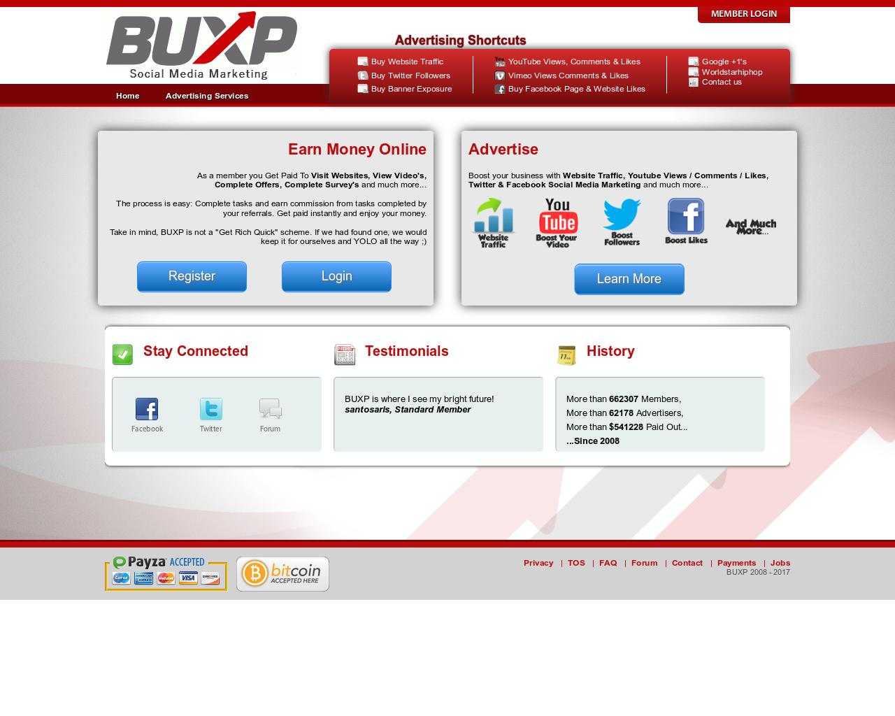 Buxp Bezahlt Dich Für Das Klicken Von Werbeanzeigen