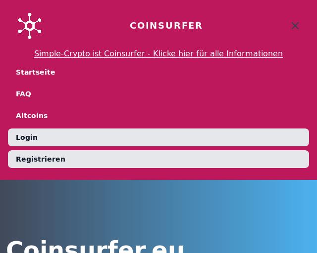 Coinsurfer Ist Eine Bezahlte Surfbar Für Bitcoins