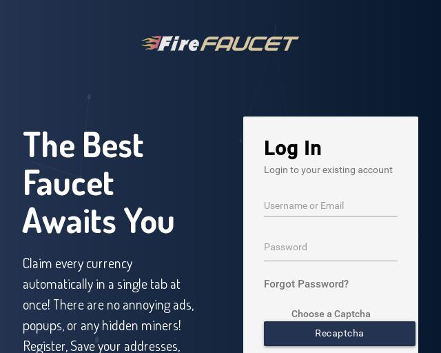 Mit Firefaucet kannst Du Kryptowährungen verdienen