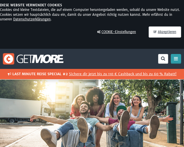 6e3dd291cbfd75 Getmore ist eine Cashback- und Social Selling Plattform