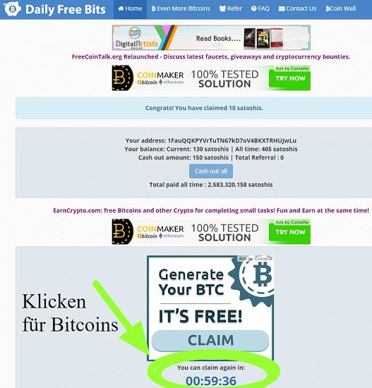 Bitcoins Sammeln